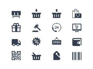 E-comerce  icons