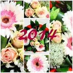 composition 2014, florale