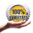 100% Qualität! Button, Icon