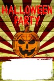Halloween Party / Plakat mit Textfeld