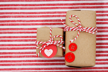 Handmade craft gift boxes