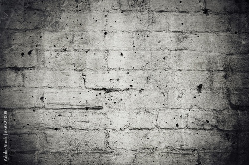 Dark Grunge Brick Wall Background