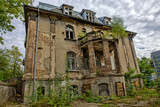 Forgotten century-old mansion. Gdańsk - Poland.