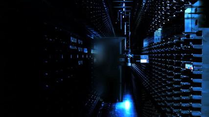 Computer Data Storage Server Room