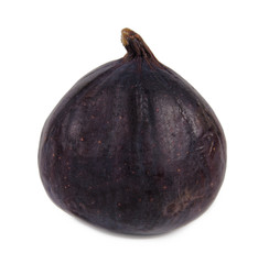 Delicious ripe purple fig