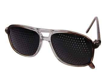 Pair of trendy dark glasses