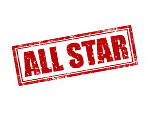 All Star-stamp