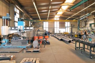 Fertigungshalle Stahlbau
