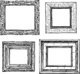 old decorative frames