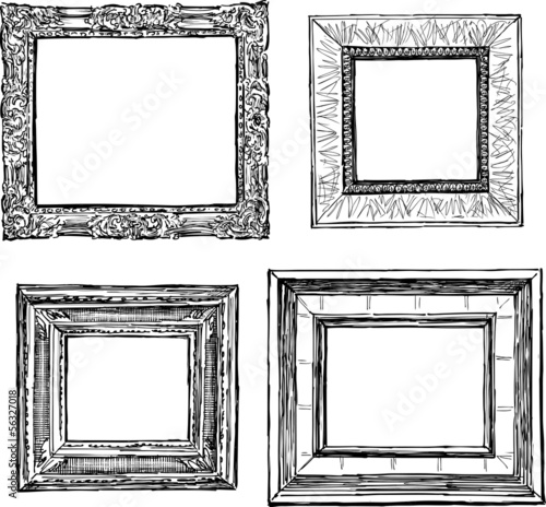 old decorative frames