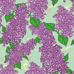 Lilac Pattern.