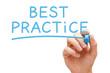 Leinwanddruck Bild - Best Practice