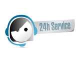 24 hour service customer support
