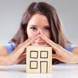Concept of  housebuilding