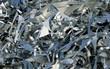 Leinwandbild Motiv Altmetall Aluminium Recycling Schrotthaufen Rohstoff Hintergrund
