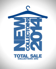 New collections 2014, sale 2013 design template.