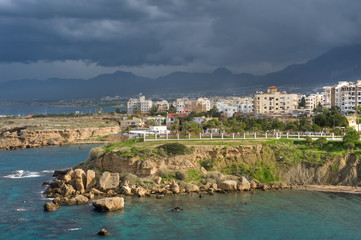 views of the Girne, Nothern Cyprus