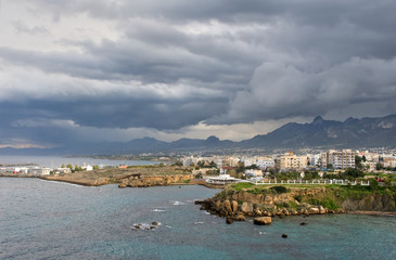 views of the Girne