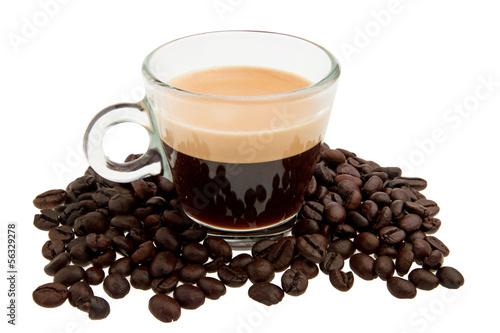 Foto op Plexiglas Cafe Tazzina di caffè