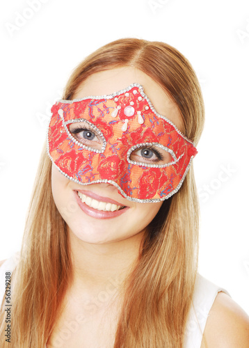 photo of girls with mask № 22496