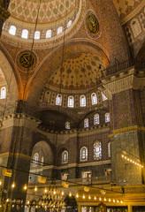 Yeni Cami - New Mosque indoor - Istanbul - Turkey