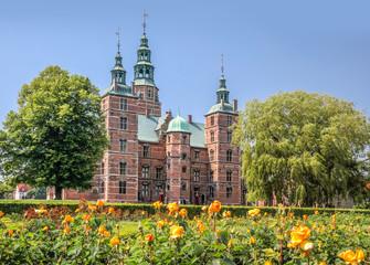Rosengarten und Schloss Rosenborg in Kopenhagen