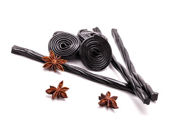 Licorice Candy And Star Anise