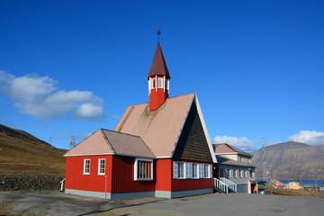 Longyearbyen, Kirche