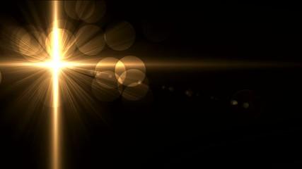 тёмный фон с лучами света