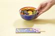日本料理・野菜の炊き合わせ