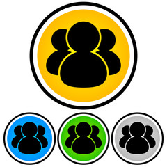 People, Social Media, Community, Partnership Icon