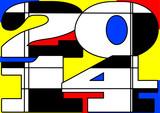 Mondrian 2014 poster