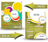 TravalFront & Back Flyer Template