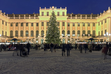 Weihnachtsmarkt Wien Schloss Schönbrunn