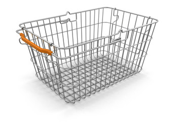 Shopping Basket (clipping path included)