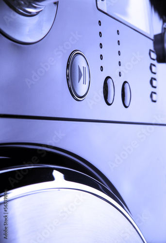 Washing machine control pannel