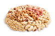 mixed nuts heap
