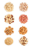 mixed nuts heap