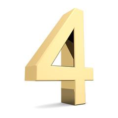 Golden number 4