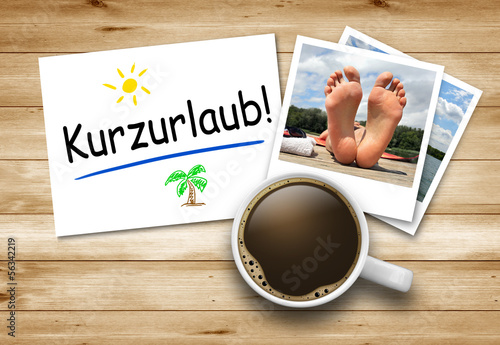 canvas print picture Kurzurlaub