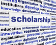 Scholarship conceptual message design
