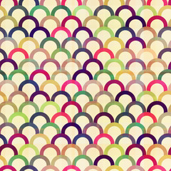 seamless circular abstract pattern