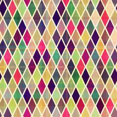 seamless rhombus geometric pattern