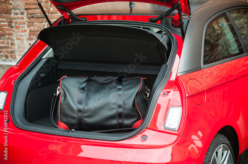 Bag in city car