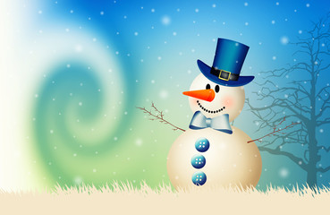 Snowman for Merry Christmas