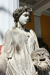 The Greek Muse Melpomene