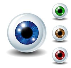 Eyeball set