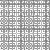 Geometric abstract lattice seamless pattern in black and white