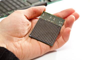 Pins eines Mikroprozessors