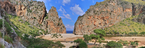 Panorama Torrent de Pareis Mallorca